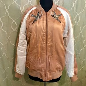 Kendall & Kylie jacket bomber embroidered size L